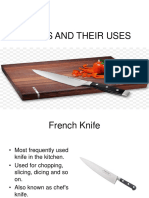 Knives and Their Uses