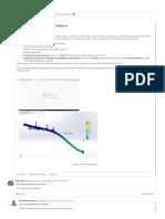 Large displacement problem _ SOLIDWORKS Forums.pdf