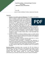 Psicopatologia Forense / Nicaragua. Autor