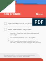 PartiuVender Checklist Semana 01 Otimize Seu Produto
