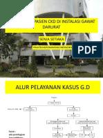 Manajemen Pasien CKD Di Instalasi Gawat Darurat