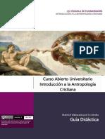 Guia didáctica de Antropología cristiana