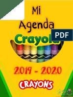 Agenda de Crayola Editable