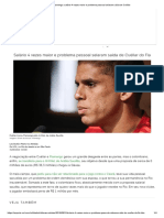 Flamengo_ Salário 4 Vezes Maior e Problema Pessoal Selaram Saída de Cuéllar