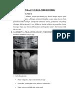 Laporan Tutorial Periodontitis