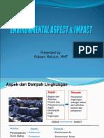 Aspek dampak lingkungan