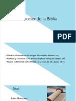 intepretación biblica