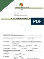 Silabo de Derecho Procesal Penal (1)