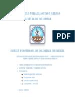 Estudio de Prefactibilidad Para Producción y Comercialziación de Mermelada de Arandano en La Ciudad de Trujillo