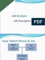 Job Analysis Basics