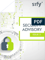 Security Advisory Issue 3