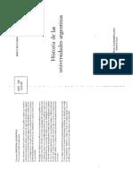 BUCHBINDER, Pablo (2000) La Crisis Del Modelo Reformista La Universidad Durante El Peronismo en Historia de Las Universidades Argentinas, Sudamericana Buenos Aires Capitulo 7