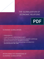 The Globalization of Economic Relations