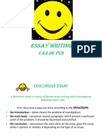 Essay Writing 1