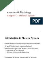 Skeletal System Part 1
