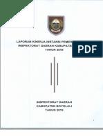 LKjIP Inspektorat Daerah Kab Boyolali 2018