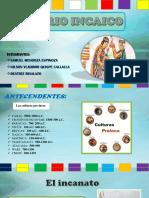 Diapositivas Imperio Incaico 2017