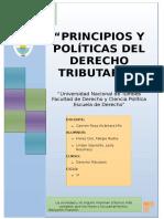 Principios y politicas