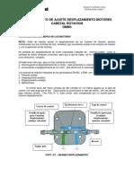 DMM3 Procedimiento Ajuste Motor Cabezal de Rotacion