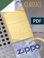 1997 1998 Classics Selects Zippo