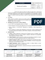 ECO-ESG-GLO 01-03 Estándar de Gestión de Cambios