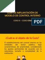 Guía de implantación de modelo de CI