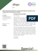 Concrete Experimental Behavior Structural Computational Modelling Design
