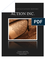 Action Inc. Business Evaluation Report - Liew May Jean (487943)