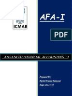 Cover page of AFA I.docx