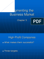 segmenting business market
