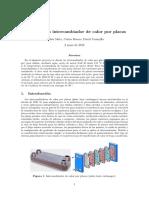 Diseño de intercambiador de calor