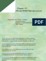 Architecture of 80286 80386 80486 Microproseccors
