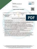 sample hazard assessment