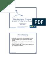 Big Company Disease (Pascal Dennis)