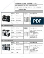 AC Series Piston Oil Free Air Compressor Pumps