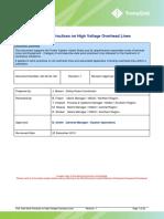 Safe Work Practices on High Voltage Overhead Lines.pdf