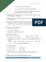 Latihan Soal Kimia XII