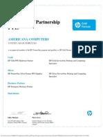 ACS - HP Gold Partner & Authorized Service Center