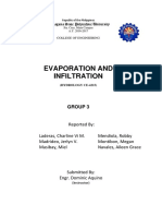 Evaporation and Infiltration Docs. Group 3