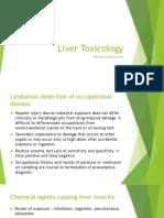 Liver Toxicology