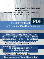 2 Role of Teachers in Producing Quality Research (1)