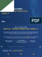 Dt Index II Executive Summary