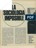 la sociologia imposible jesus ibañez