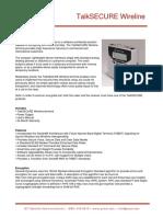 GIT TalkSECURE Wireline Information Brief