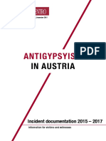 Antigypsyism in Austria 2015-2017