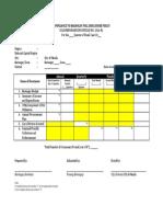 Barangay Full Disclosure Policy Form