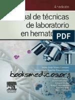 Manual de Tecnicas de Laboratorio en Hematologia