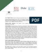 Cannabis and Periodontal Disease Fact Sheet
