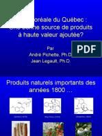 Colloque Bioeconomie Andre Pichette