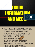 Lesson-13 Visual Media and Information